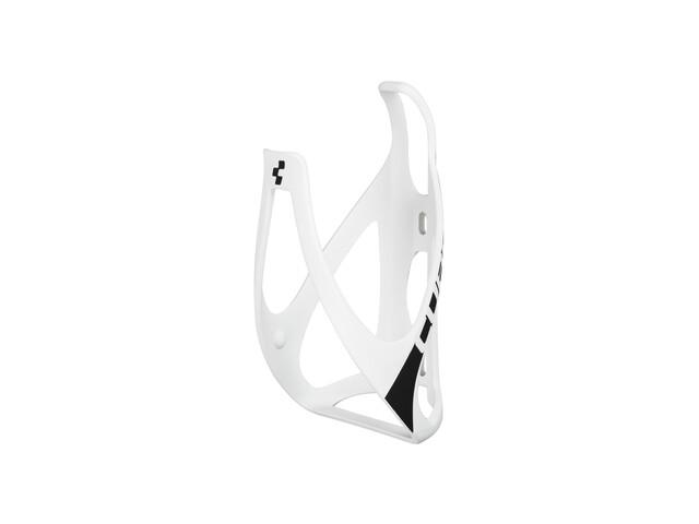 Cube HPP Flaschenhalter matt weiß/schwarz